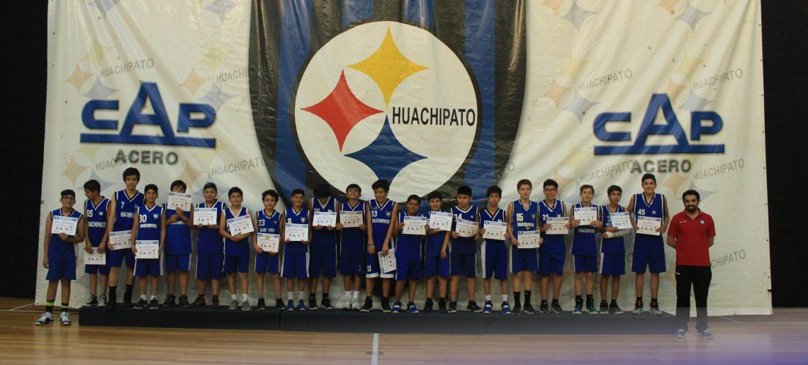 El basquetbol premió a sus deportistas