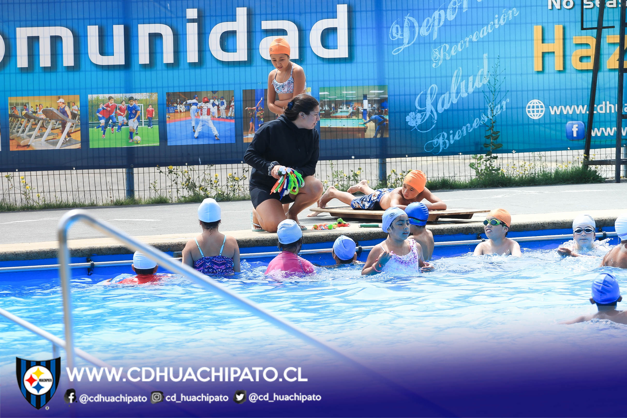 """Culminó Curso de Natación Programa """"CAP Acero – Buen Vecino"""""""