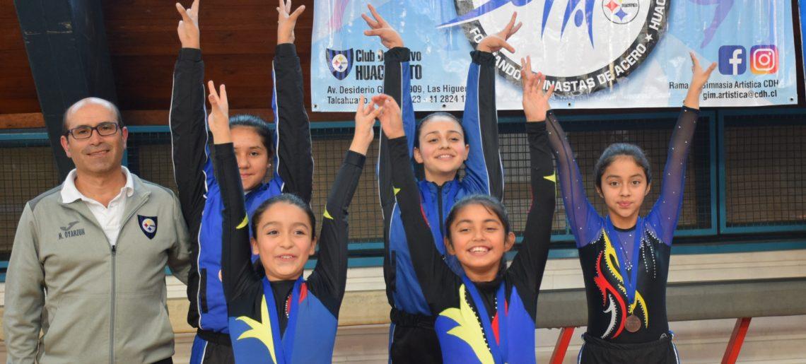 Gimnasia Artística participó en Torneo Nivel 2 organizado por Club GES de San Pedro