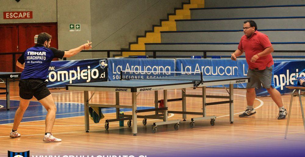 Gran nivel de tenimesistas en primer torneo por equipos organizado por el Club Deportivo Huachipato