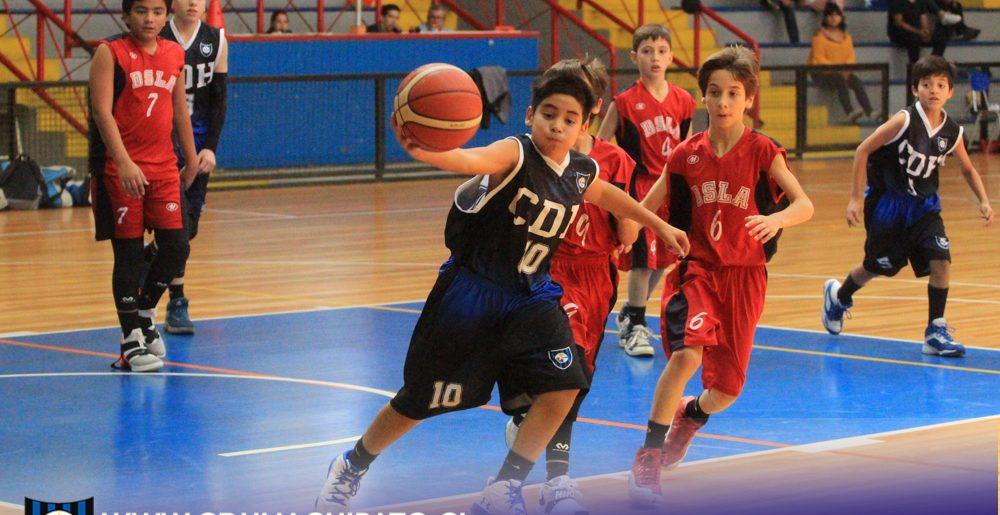 Baloncesto Acerero comenzó su periplo en la Liga Bío Bío en las categorías Sub 13, 15 y 17 Varones