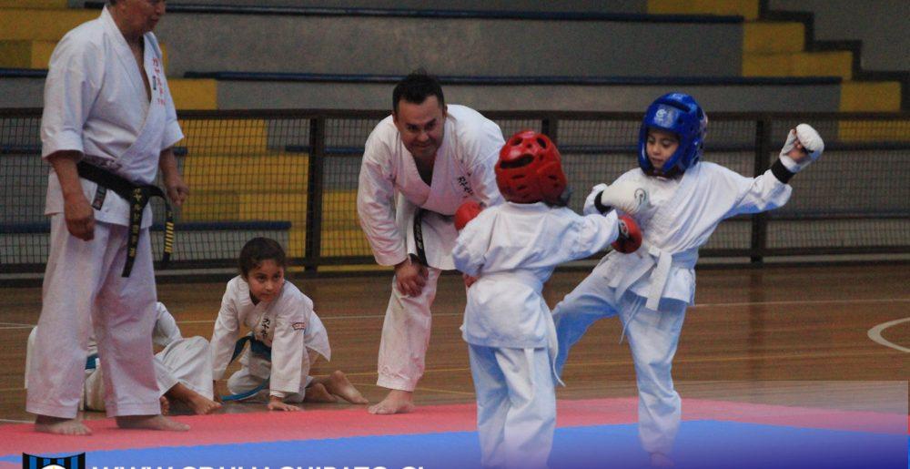Karatecas demostraron todas sus habilidades en Torneo Interno