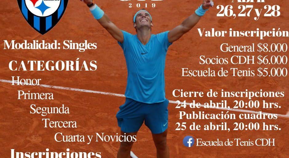 Lista una nueva versión del tradicional torneo de tenis John Cid