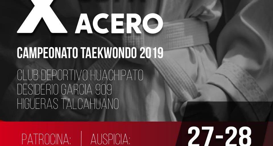 Nueva Versión de Copa Acero de Taekwondo