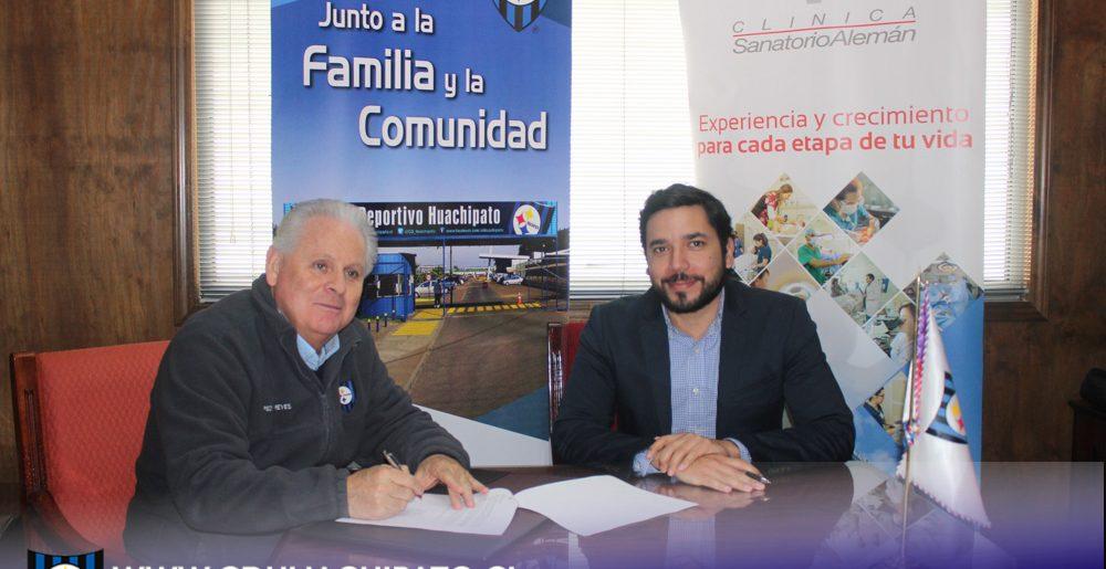 C.D.Huachipato suma nuevo convenio con beneficios para  sus Socios con Clínica Sanatorio Alemán