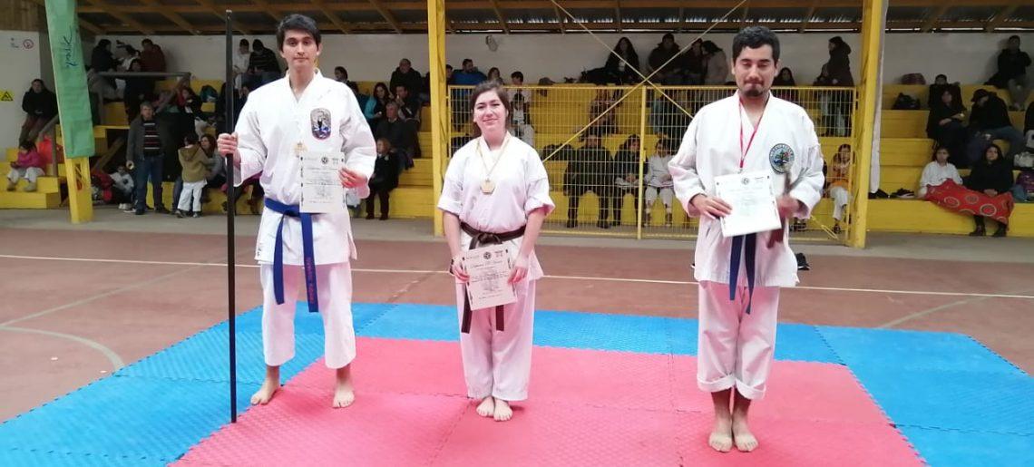 Buena participación de karatecas acereros en Los Álamos