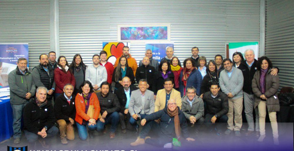 Mesa Regional de Prevención IST Zonal Sur en Club Deportivo Huachipato