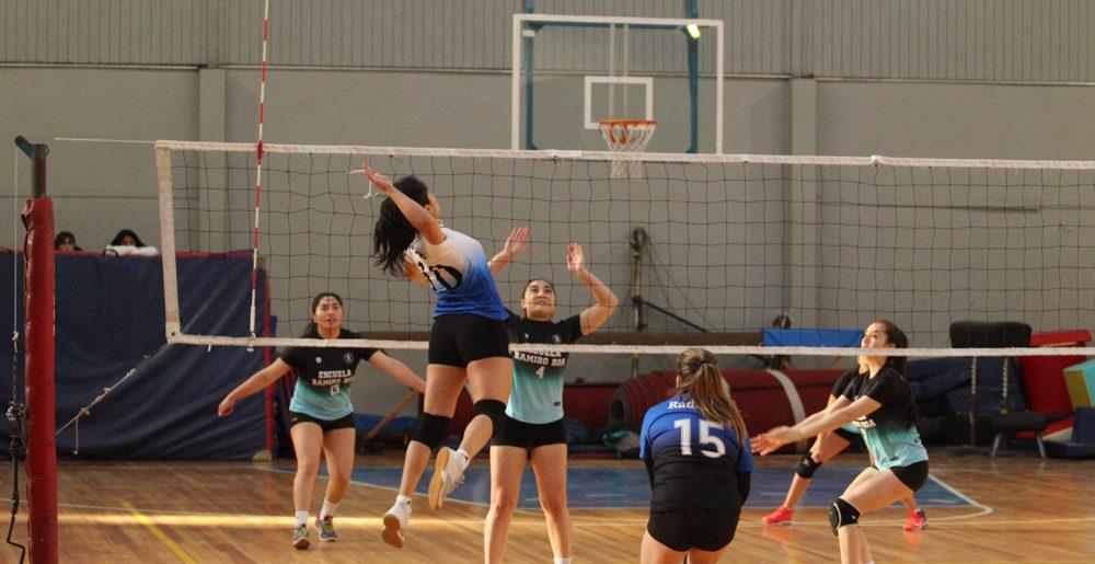 """Huachipato damas sigue fuerte en la """"Liga Sur"""" de voleibol"""