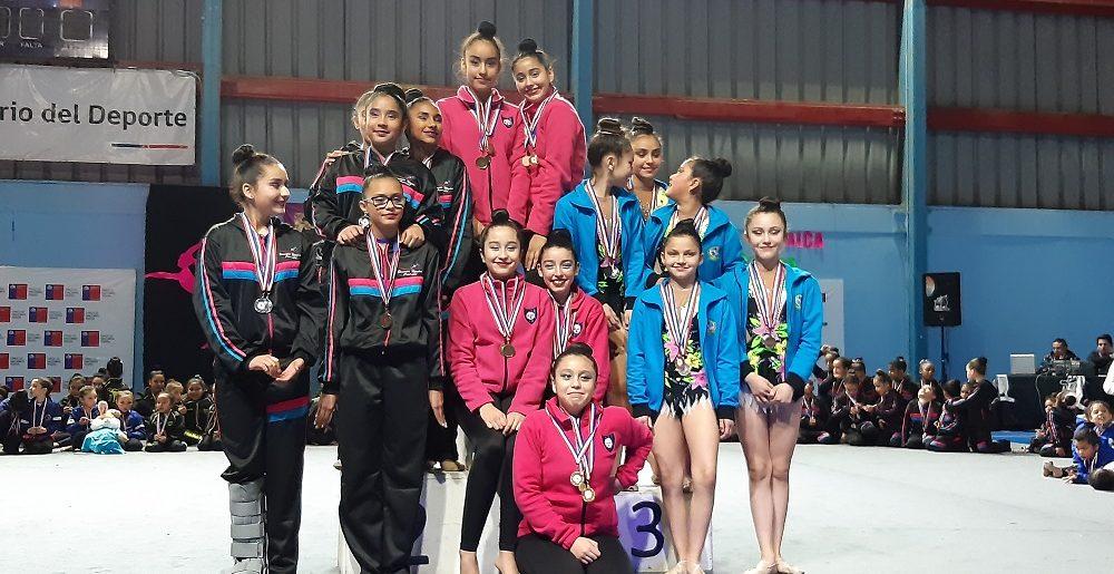 Gimnasia Rítmica logró buenos resultados en Rancagua