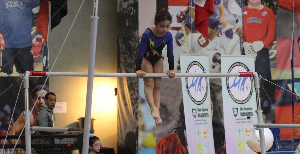 Cerca de 500 gimnastas se dieron cita en el C.D.Huachipato