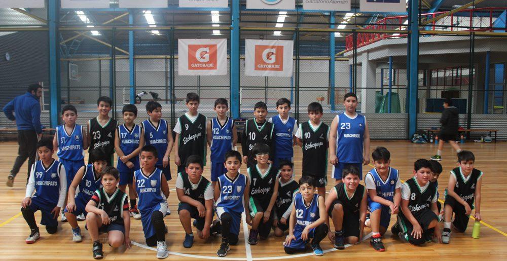 Huachipato, Alemán y Etchegoyen animaron triangular amistoso de basquetbol