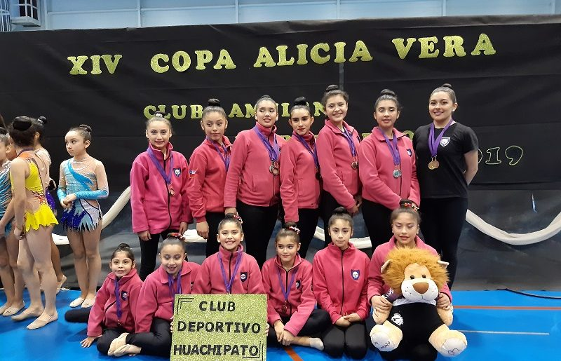 Gimnastas de Huachipato mostraron un gran nivel en Temuco