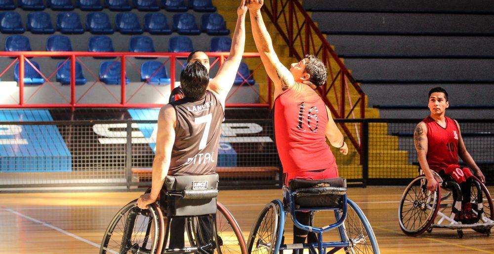 En el C.D.Huachipato se jugó segunda fecha de Liga Nacional de Basquetbol en silla de ruedas