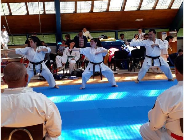 Karatecas acereros compitieron en San Pedro
