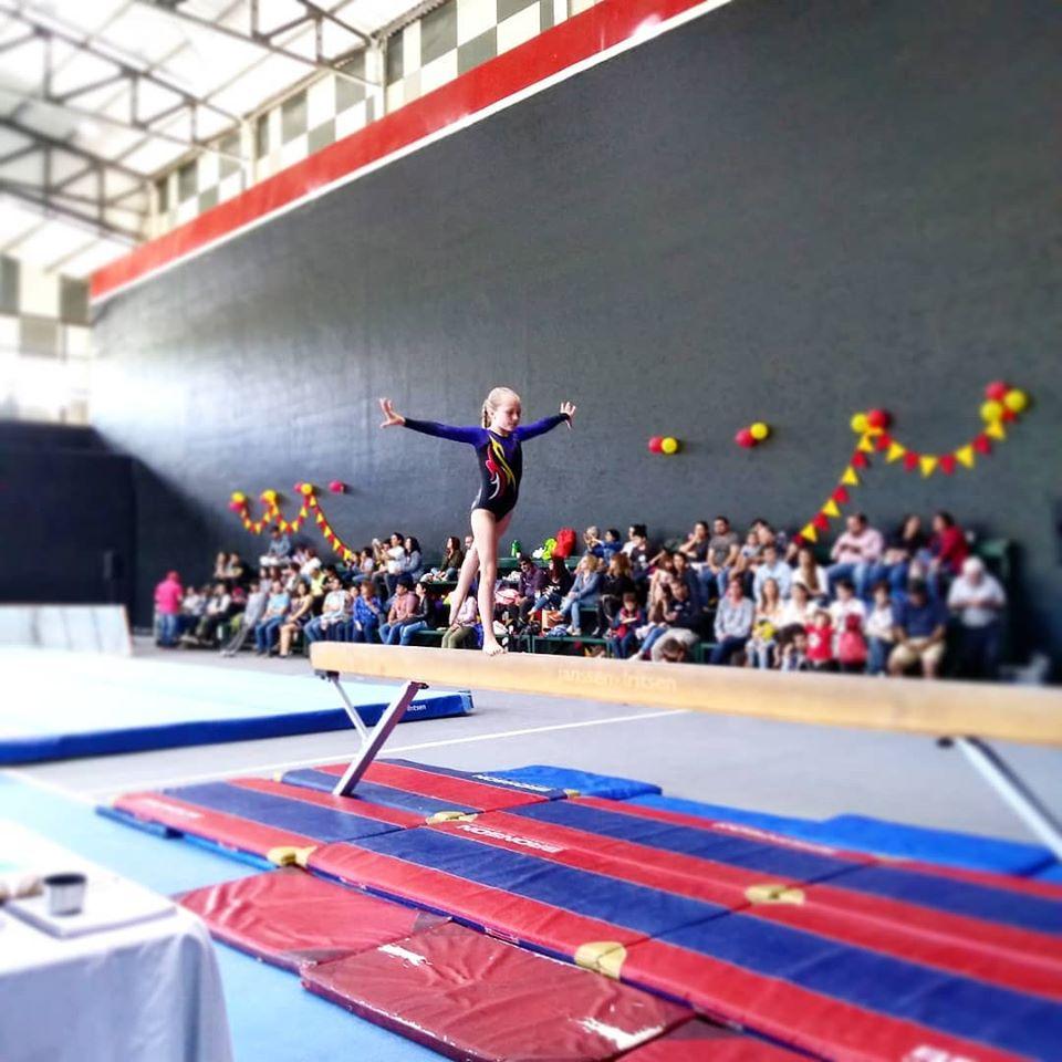 Una gran participación tuvo la Gimnasia Artística en Chiguayante