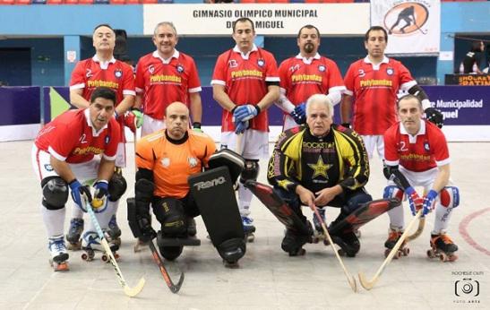 Patín Hockey  Master de Huachipato  participa en Torneo de Mendoza