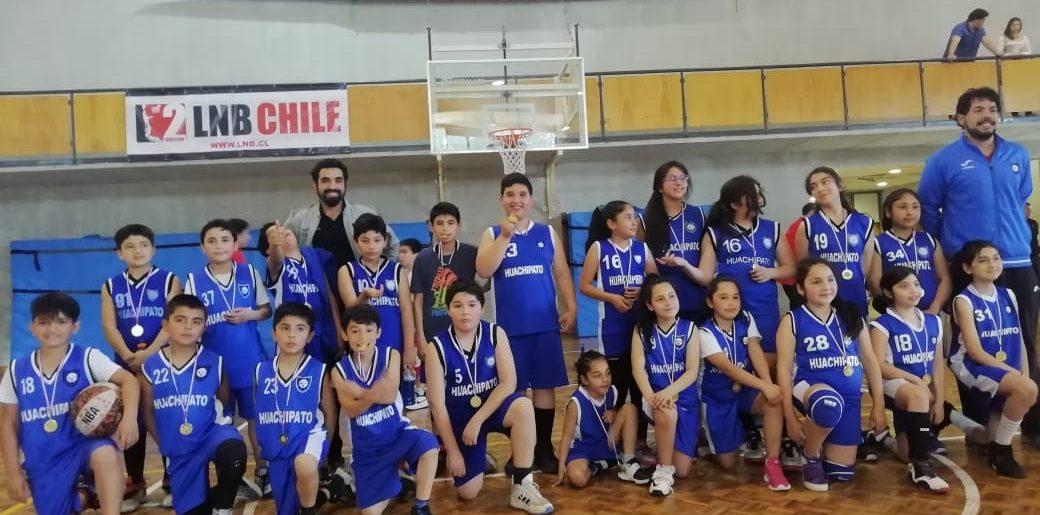 Sub10 de Huachipato participó en encuentro amistoso de baloncesto en el C.D.Alemán