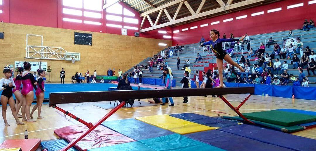 Gran actuación de la Gimnasia Artística en Villarica