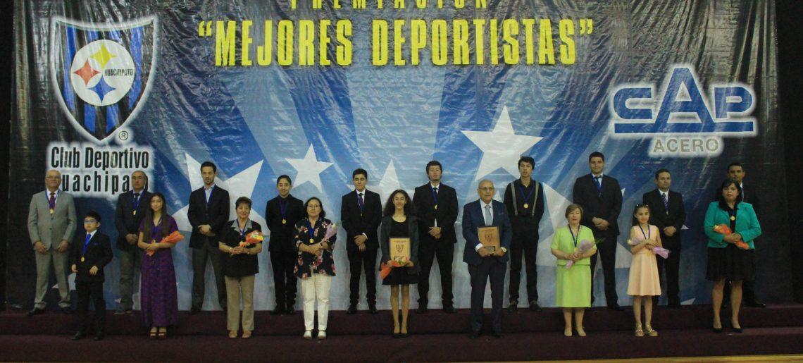CLUB  DEPORTIVO HUACHIPATO PREMIA  SUS  MEJORES DEPORTISTAS  AÑO  2019