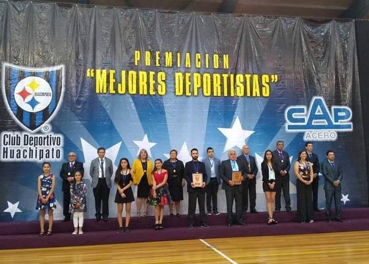 C.D.Huachipato premió a sus Mejores Deportistas 2019