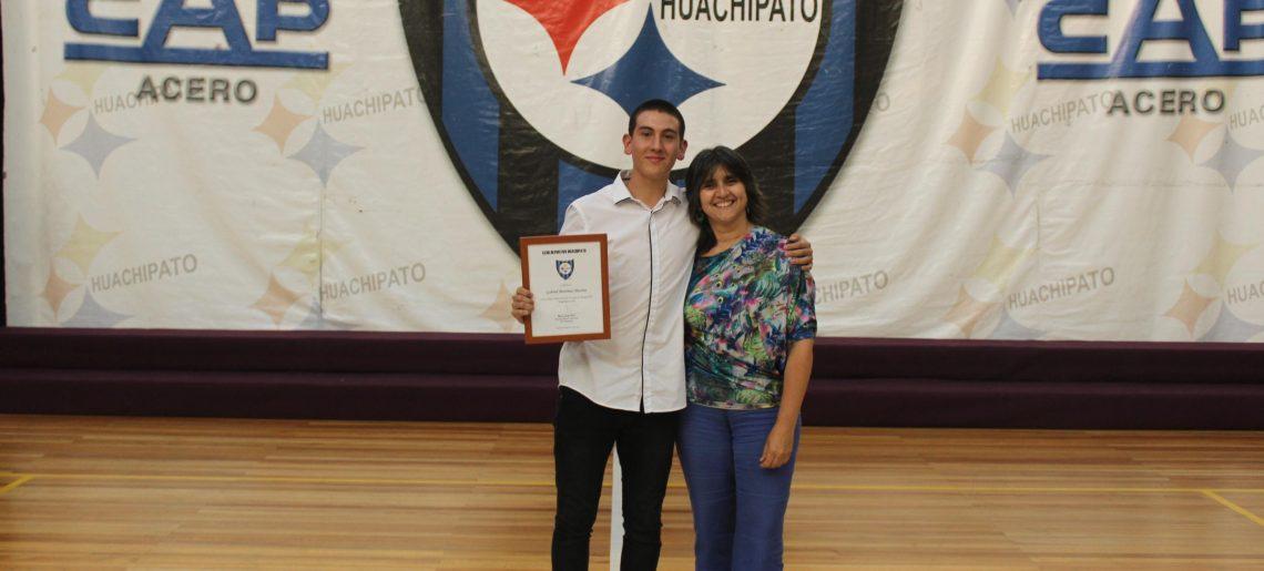 Basquetbolistas acereros recibieron reconocimiento