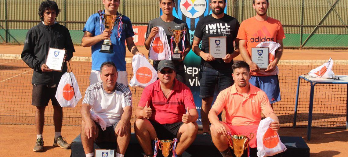 Torneo de Tenis José Essmann sigue latiendo en la arcilla acerera