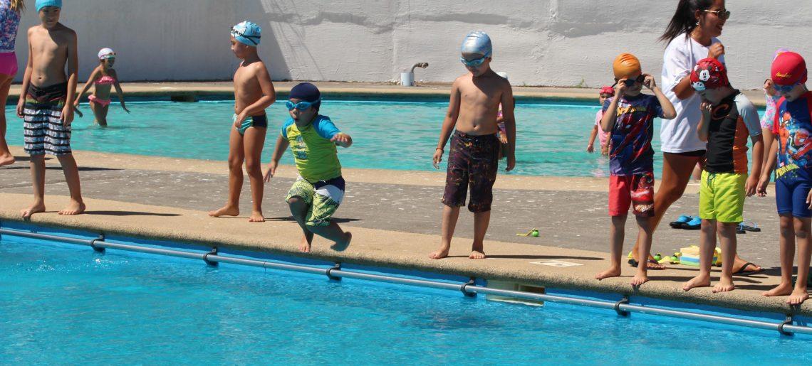 Cierre temporada de piscina