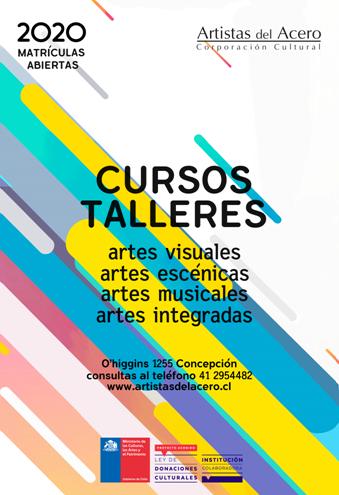 Artistas del Acero abre su proceso de matrículas para cursos 2020