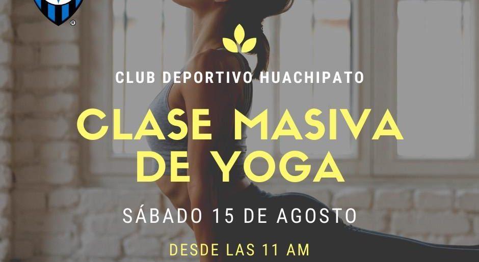 Invitamos a todos nuestros socios y socias a participar de una clase de Yoga Terapeútica