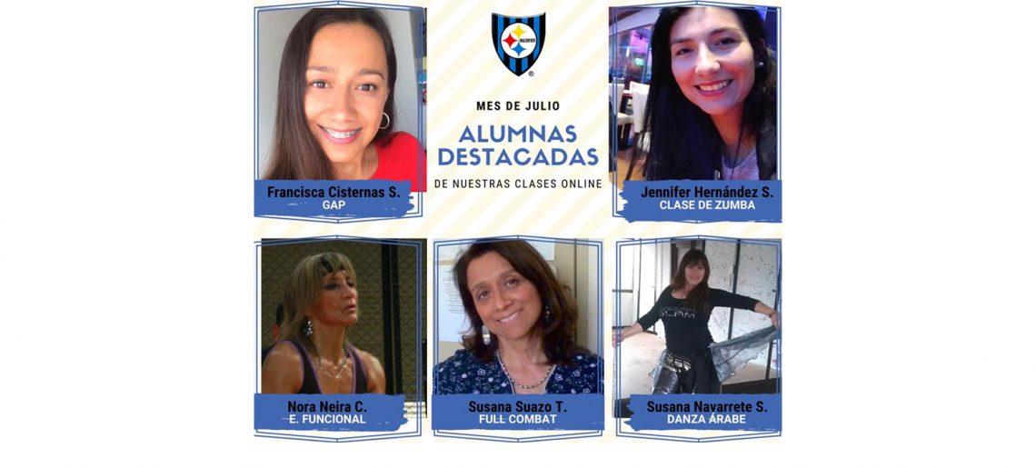 """Clases Online de Fitness distinguen a """"Mejor Alumno del Mes"""""""