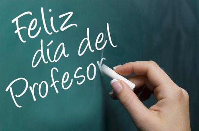 Celebración del Día del Profesor