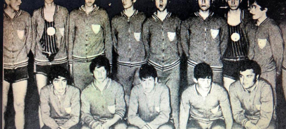 Hace 50 años, el 1 de Octubre de 1970 HUACHIPATO CAMPEON DEL CESTO JUVENIL