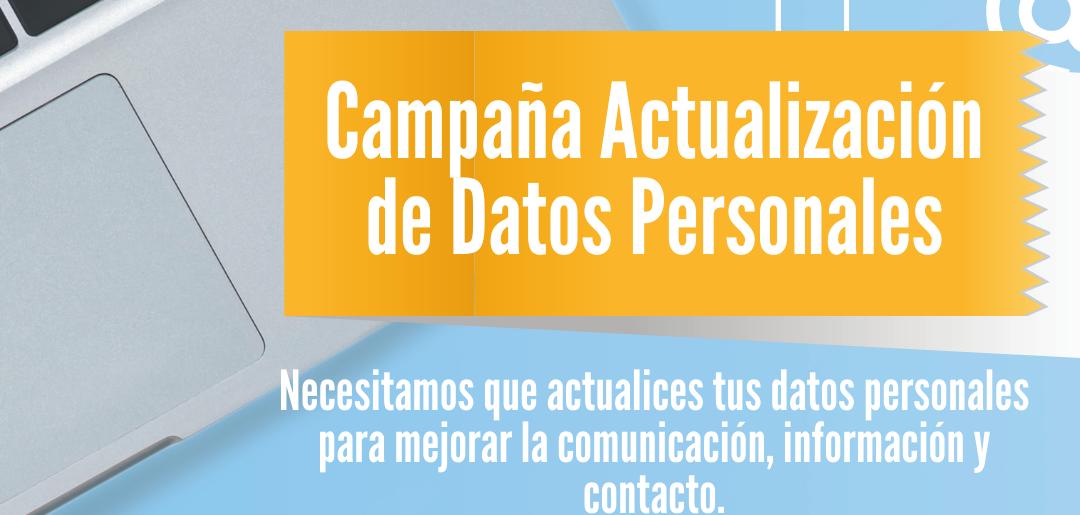 Actualización de Datos Personales