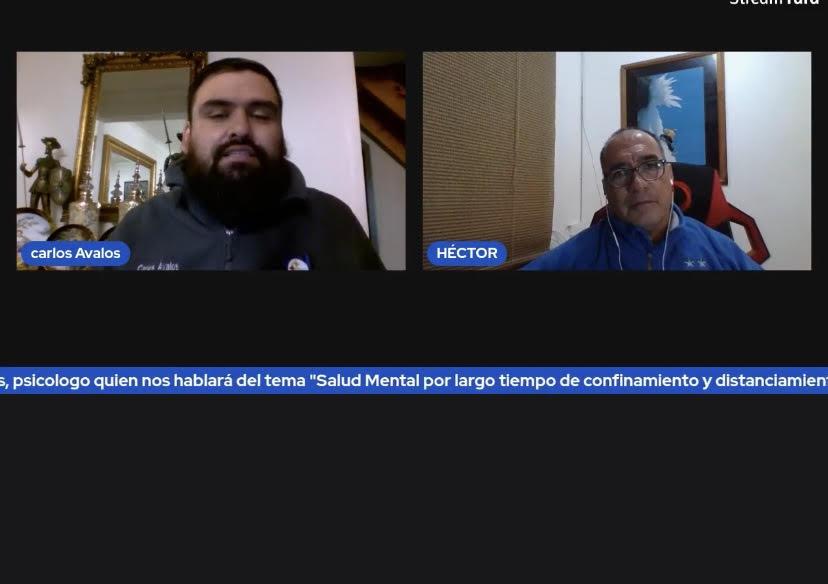 Salud Mental en tiempos de Pandemia fue el tema de 2º conversatorio online del CDH