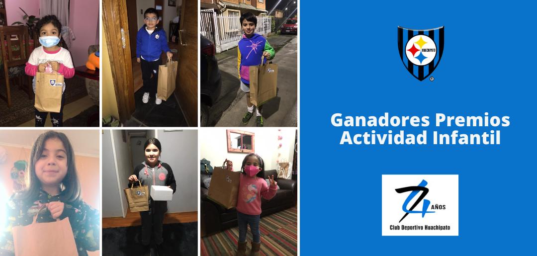 Ganadores premios de Actividad Infantil