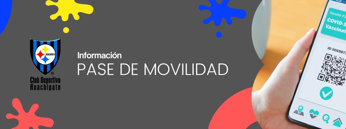 PASE DE MOVILIDAD